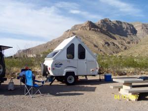 Aliner a-frame camper