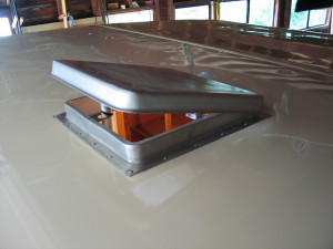 pop up camper air conditioner fits in roof vent