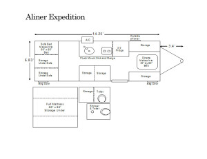 aliner expedition floor plan