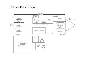 aliner expedition floor plan
