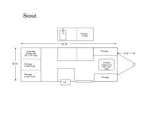 aliner scout floor plan