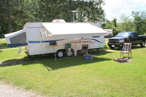 hybrid travel trailer