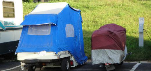 motorcycle campers