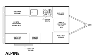 Chalet Alpine floor plan