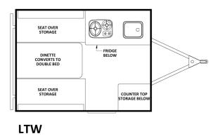 Chalet LTW Floorplan