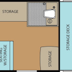 Clipper Classic 104GS floor plan