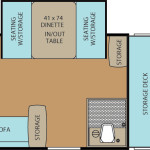 Clipper Classic 124GS floor plan