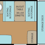 Clipper Classic 904GS floor plan