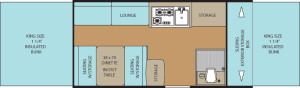 clipper sport 127st floor plan