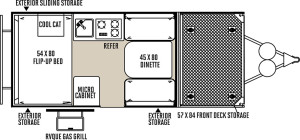 Flagstaff Hard Side floor plan