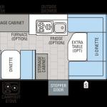Jay Series 1207UD floor plan