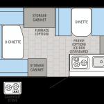 Jay Series Sport 12UD floor plan