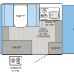 Jay Series Sport 8SD Floor Plan